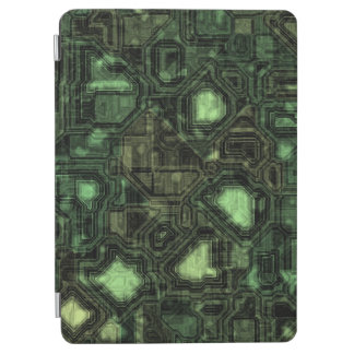 Computer circuit background iPad air cover