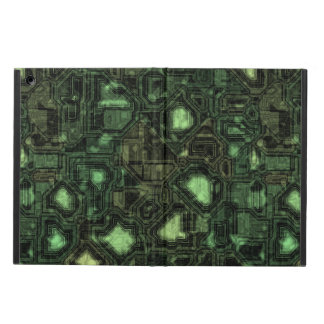 Computer circuit background iPad air cases