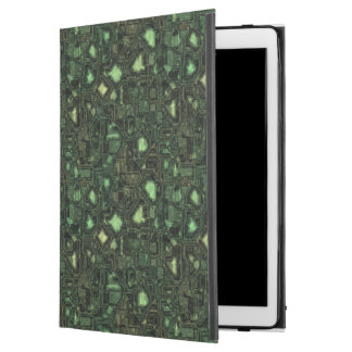 Computer circuit background iPad pro case
