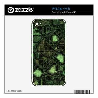 Computer circuit background skins for the iPhone 4S