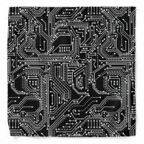 Computer Circuit Board Bandana
