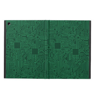 Computer circuit board case for iPad air