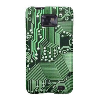 Computer circuit board galaxy s2 case