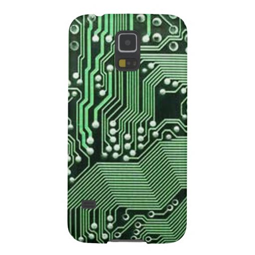 Computer circuit board galaxy s5 covers