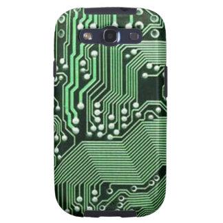 Computer circuit board galaxy SIII cover