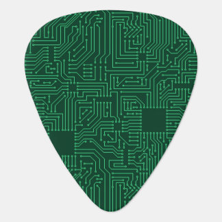 Computer circuit board guitar pick