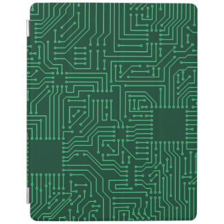 Computer circuit board iPad cover