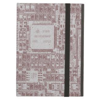 Computer circuit board iPad air cases