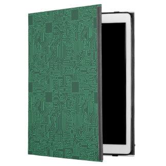 Computer circuit board iPad pro case