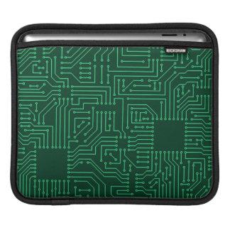 Computer circuit board iPad sleeve