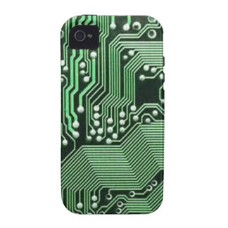 Computer circuit board iPhone 4/4S cover