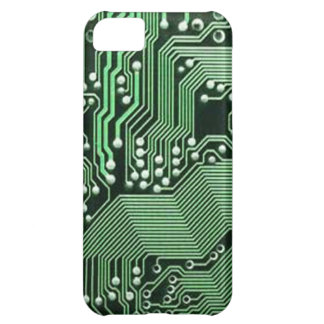 Computer circuit board iPhone 5C cover