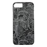 Computer Circuit Board iPhone 7 Case