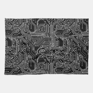 Computer Circuit Board Kitchen Towel