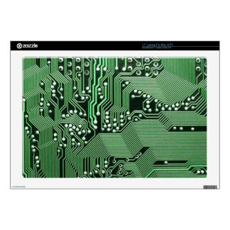 Computer circuit board laptop decal