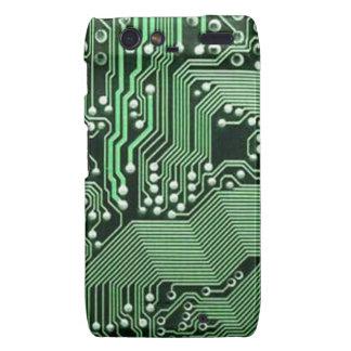 Computer circuit board motorola droid RAZR cases