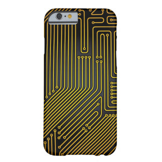 Computer circuit board pattern barely there iPhone 6 case