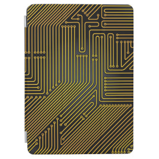 Computer circuit board pattern iPad air cover