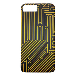 Computer circuit board pattern iPhone 8 plus/7 plus case
