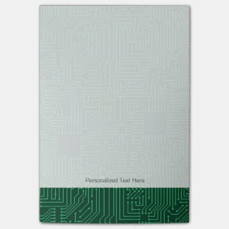 Computer circuit board post-it® notes