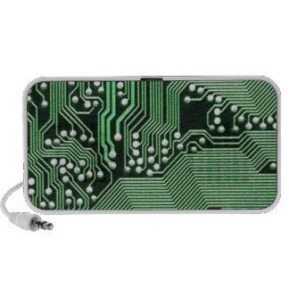 Computer circuit board speakers