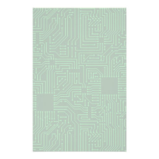 Computer circuit board stationery