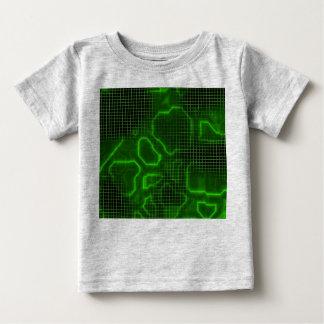 Computer Circuit Board Textured Baby T-Shirt