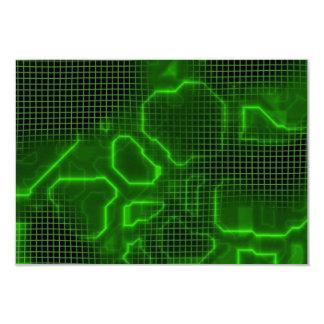 Computer Circuit Board Textured Card