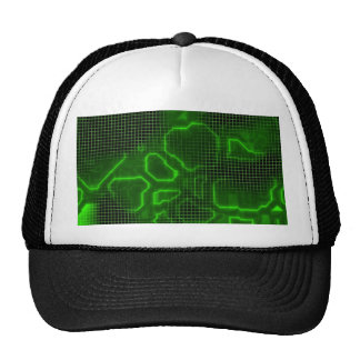 Computer Circuit Board Textured Trucker Hat