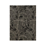 Computer Circuit Board Wood Poster
