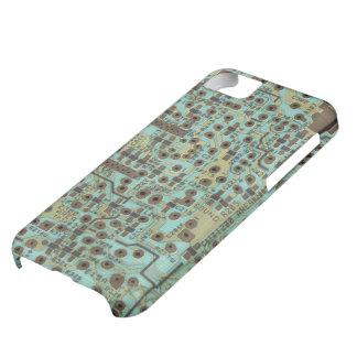 Computer CircuitBoard -Geek Design Case For iPhone 5C