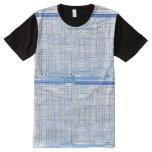 Computer Circuits All-Over-Print T-Shirt