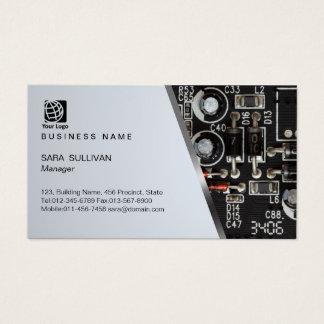 Computer Circuits Computer Service Business Card