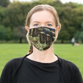 Computer Circuits Technology Adult Cloth Face Mask
