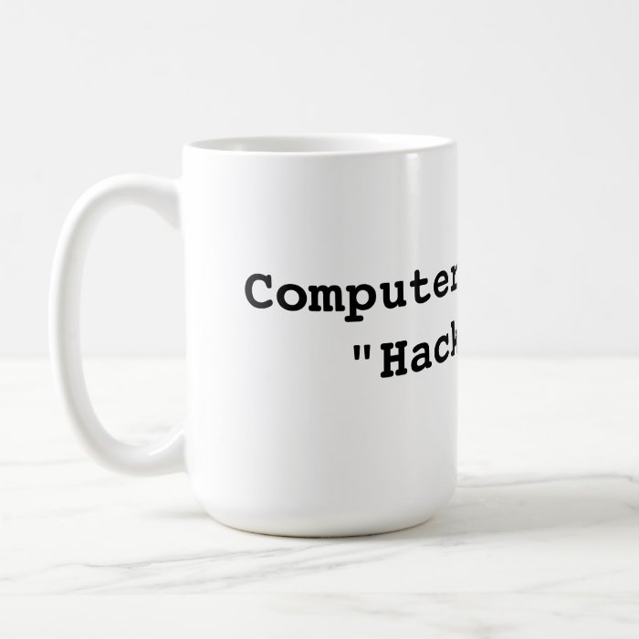 Computer coffee cup