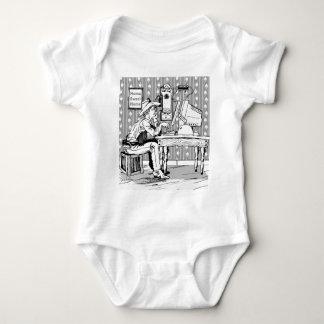 Computer Cowboy Baby Bodysuit