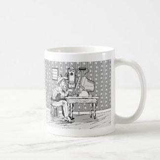 Computer Cowboy Mugs