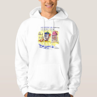 Computer Dating Funny Hoodie by Rick London