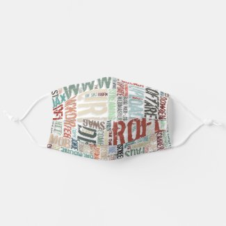 Computer Dictionary Cloth Face Mask