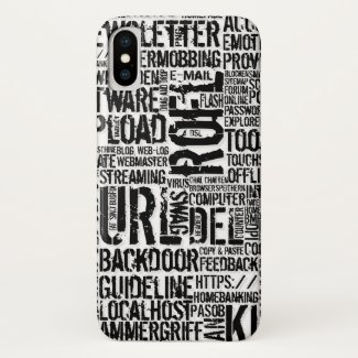 Computer Dictionary... iPhone X Case