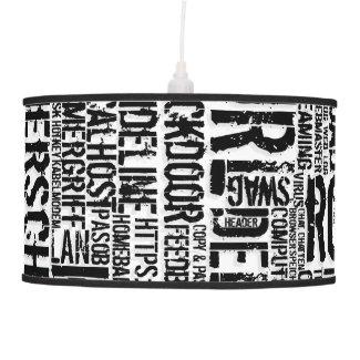 Computer Dictionary... Pendant Lamp