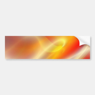 Computer Digital Abstract Painting Bumper Sticker
