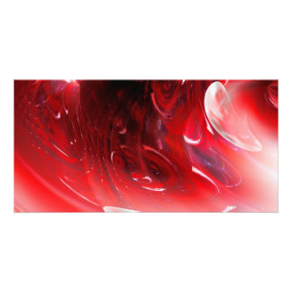 Computer Digital Abstract Photo Card Template