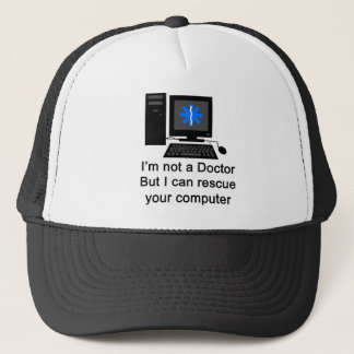 Computer Doctor Trucker Hat