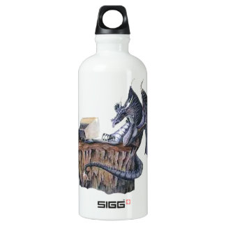 Computer Dragon Aluminum Water Bottle