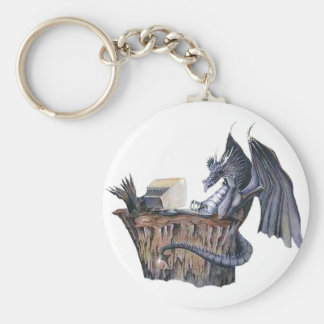 Computer Dragon Keychain