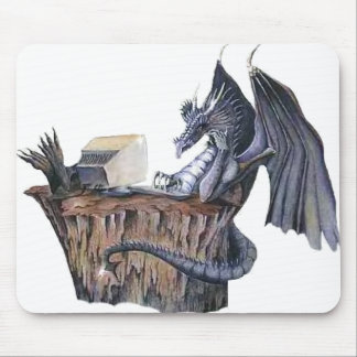 Computer Dragon Mouse Pad
