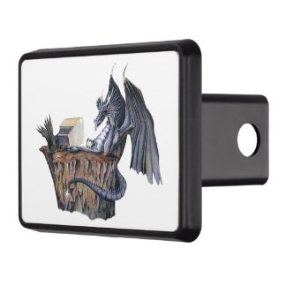 Computer Dragon Tow Hitch Cover