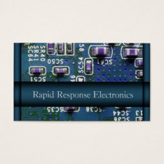 Computer / Electronic Repair Business Card at Zazzle