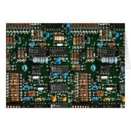 Computer Electronics Printed Circuit Board Card